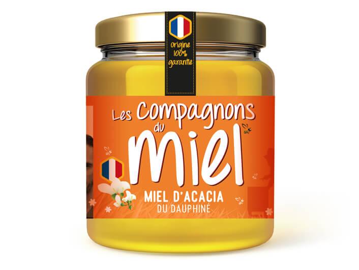 Miel d'acacia du Dauphiné