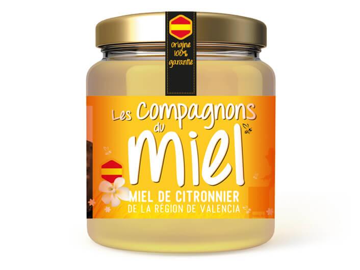 Miel de Citronnier de la région de Valencia