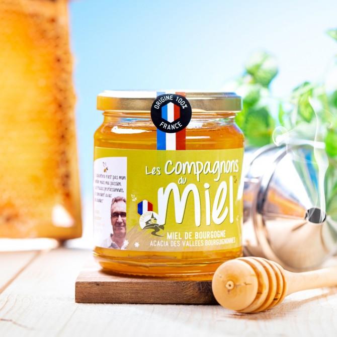 Miel d'Acacia des Vallées Bourguignonnes