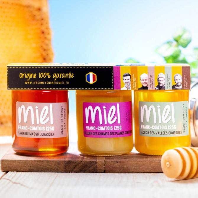 Coffret découverte - Miel de Franche-Comté