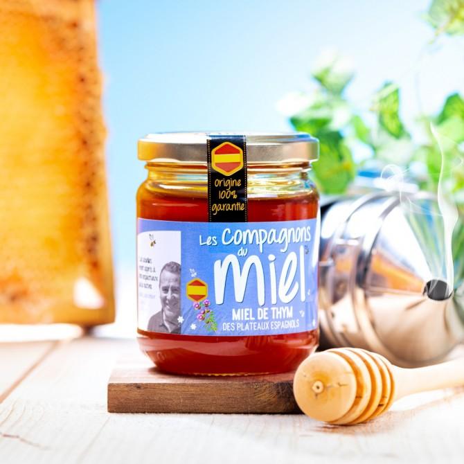 Miel de Thym 250 g - Cordillère Ibérique