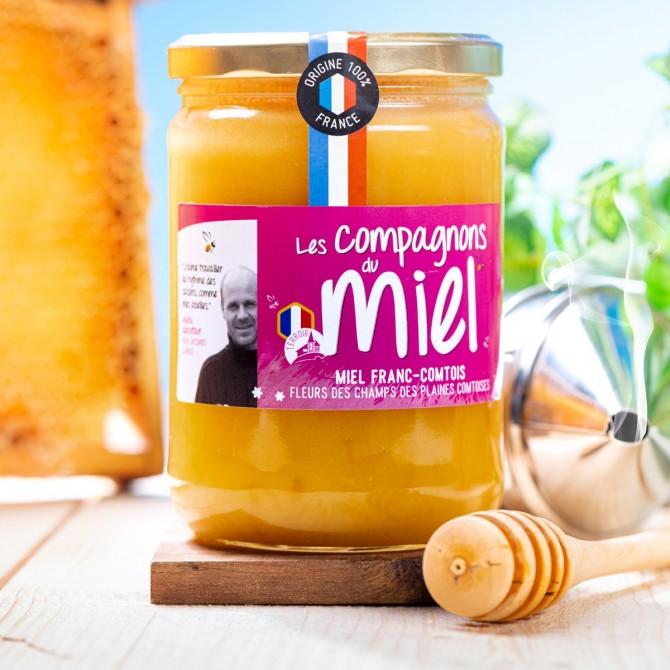 Miel de Fleurs des Champs de Franche-Comté 750g
