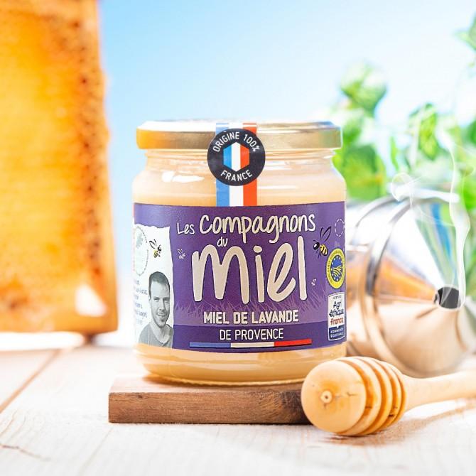 Miel de lavande de Provence médaille Argent 2020