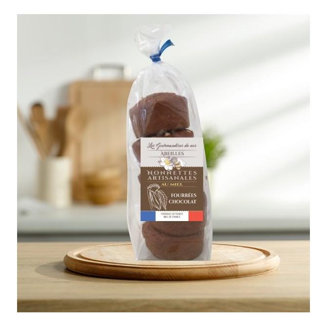 Nonnettes au miel fourrées au chocolat