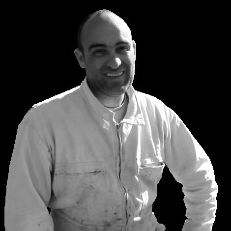 François apiculteur Chaussan Rhône