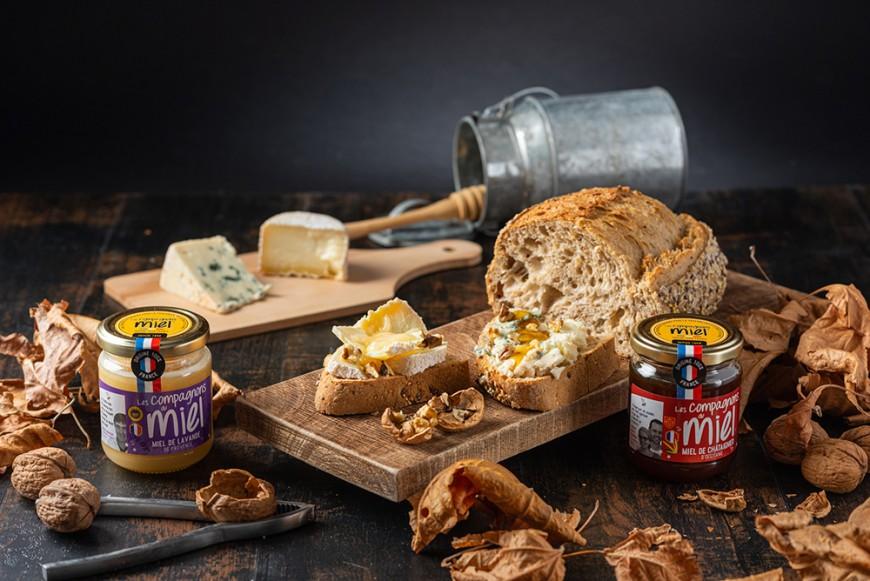 Recette Accords miels et fromages