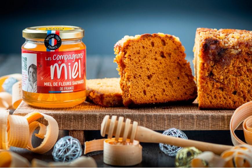Recette Pain d'épices gourmand au miel de Fleurs Sauvages