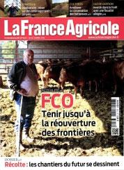 La France Agricole - 16 octobre 2015